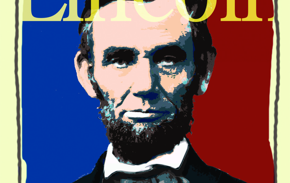 Abraham Lincoln Presidential Library Poster Design, Illustration, Bicentennial,